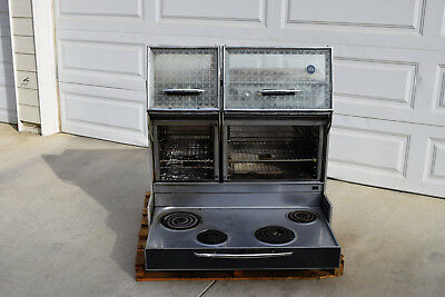 1960s Frigidare Custom Imperial Double Door Electric Oven Flair Stove La Calif