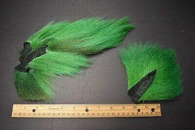 "FISHAIR FISH HAIR SYNTHETIC BUCK TAIL BUCKTAIL FLY TYING HAIR 1.5-2 /"" HANK YELLO"