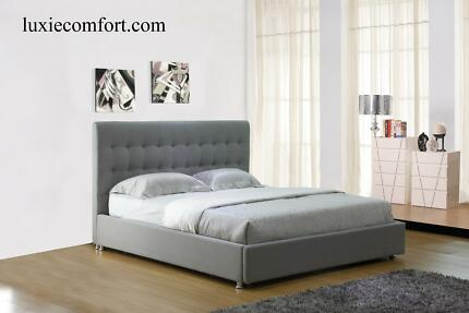 BRAND NEW TORINO Bed frame in Poland EUROPEAN fabric/ Leather Hoppers Crossing Wyndham Area Preview
