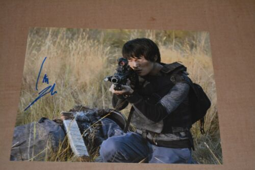 CHRISTOPHER LARKIN signed Autogramm  In Person THE 100