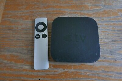 Apple TV 3rd Gen A1469 media streamer USED Free p&p
