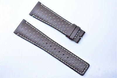 Original Gucci Uhrenarmband Herren Echt leder 23 mm Band Dunkel Braun 23R SL