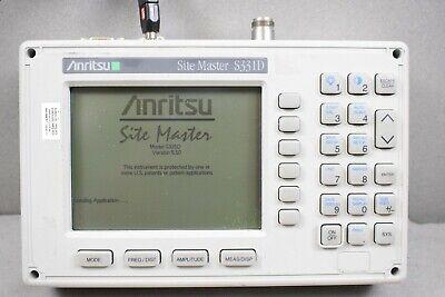 Anritsu S331d Site Master Cable Antenna Analyzer Site Master