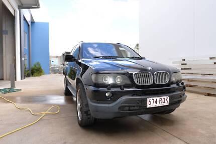 BMW X5 4.4L v8 2001