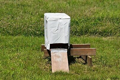 Honey Bees With Honey Maker Hive