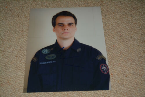 WAGNER MOURA signed  Autogramm 20x25 cm In Person TROPA DA ELITE