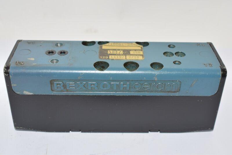 BOSCH REXROTH GT-10061-2440 SOLENOID VALVE 2POSITION 120VAC 50/60HZ 150PSI MAX