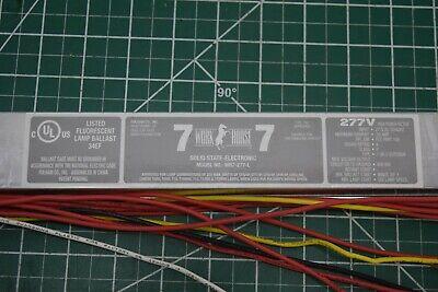Fulham WORKHORSE WH7-277-L Ballast Instant 277 Volt F39T5/F13T8/F14T8/F40T8 (Workhorse 7 Ballast)