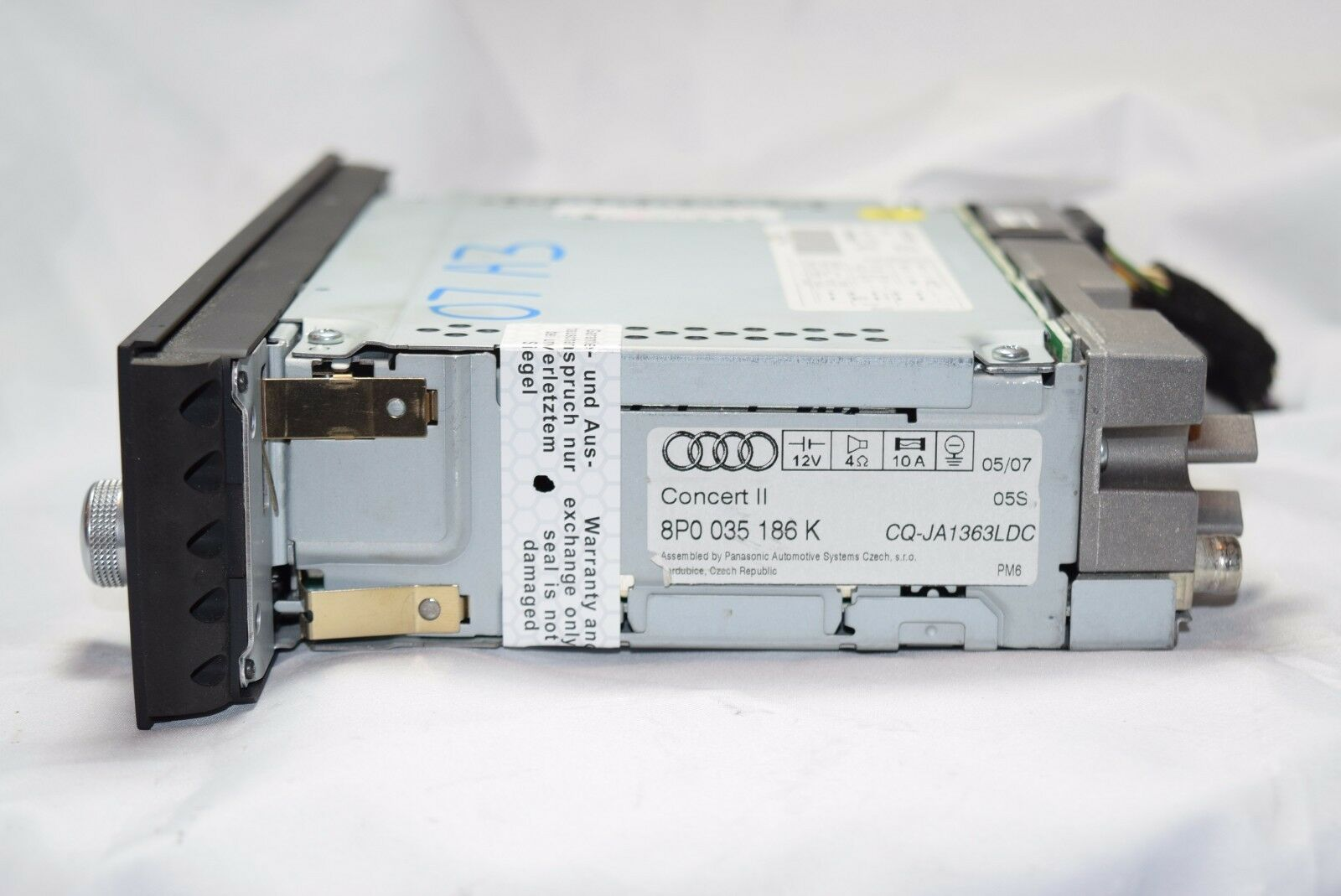 Audi A3 A4 Concert Ii Cd Player Radio Stereo 2006 2007