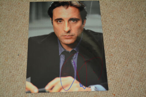 ANDY GARCIA  signed Autogramm 20x25 cm In Person DER PATE THE GODFATHER