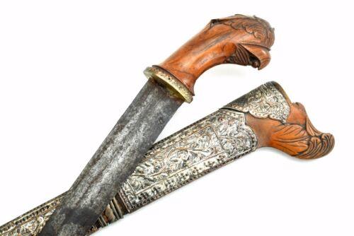 Ornate Indonesian Malaysian Pedang Dagger Short Sword