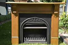 Jetmaster Open Wood Burning Fireplace + Facia + Mantel Frenchs Forest Warringah Area Preview