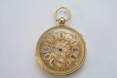 Rare John Bennett 18kt Gold quarter repeater London 1865