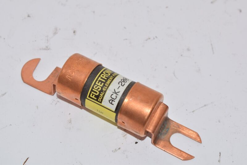 NEW Bussmann Eaton ACK-200 Specialty Fuses 72VDC 200A Fuse