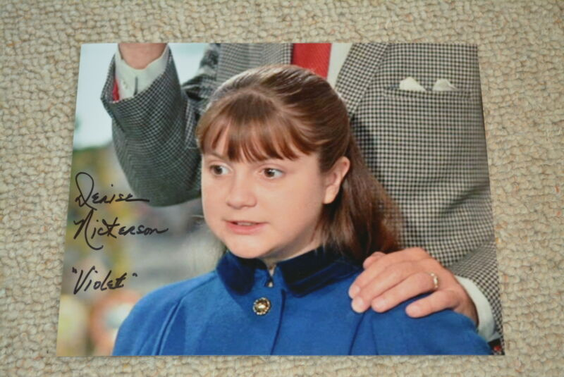 DENISE NICKERSON signed Autogramm  20x25 cm WILLY WONKA & THE CHOCOLATE FACTORY