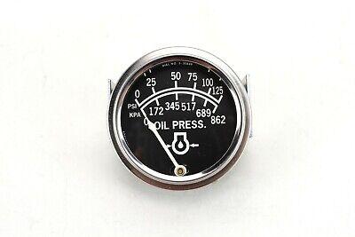 Oem Lincoln 125psi862kpa Oil Pressure Gauge S7599 Bw1023