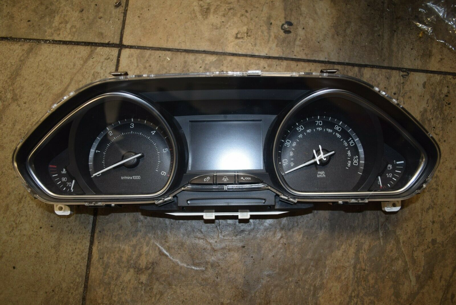 2013 PEUGEOT 2008 1.6 HDI INSTRUMENT CLUSTER 9805341480 (L3-6)