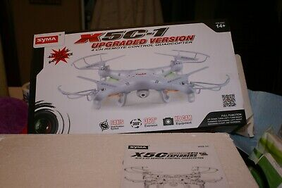 NEW SYMA X5C-1 2.4G, Drone with Camera UPGRADED Style  4 CH.REMOTE CONTROL