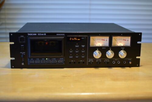 Tascam 122 MKIII  3 Head Professional Cassette Deck, serviced and tested