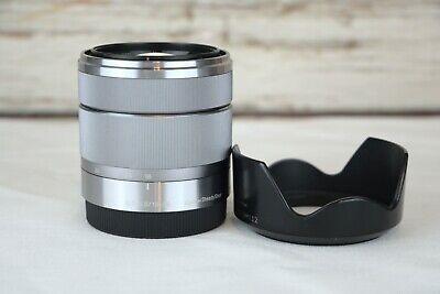 Sony E-Mount Silver Lens 18-55mm SEL1855 3.5-5.6 OSS