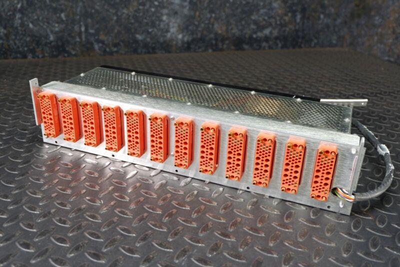 EGG Ortec 4002A NIM BIN 12 Slot Power Supply +/- 24V & +/-12V 1.5/3A