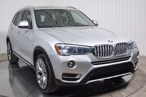 2015 BMW X3 XDRIVE TURBO DIESEL CUIR TOIT PANO MAGS