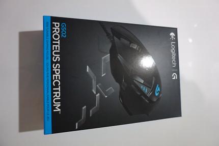 G502 Proteus Spectrum Logitech Mouse - NEVER OPENED