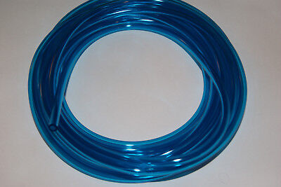 1/4-In ID Blue Fuel Line ATV Watercraft Motorcycle Snowmobile PWC METHANOL TEST