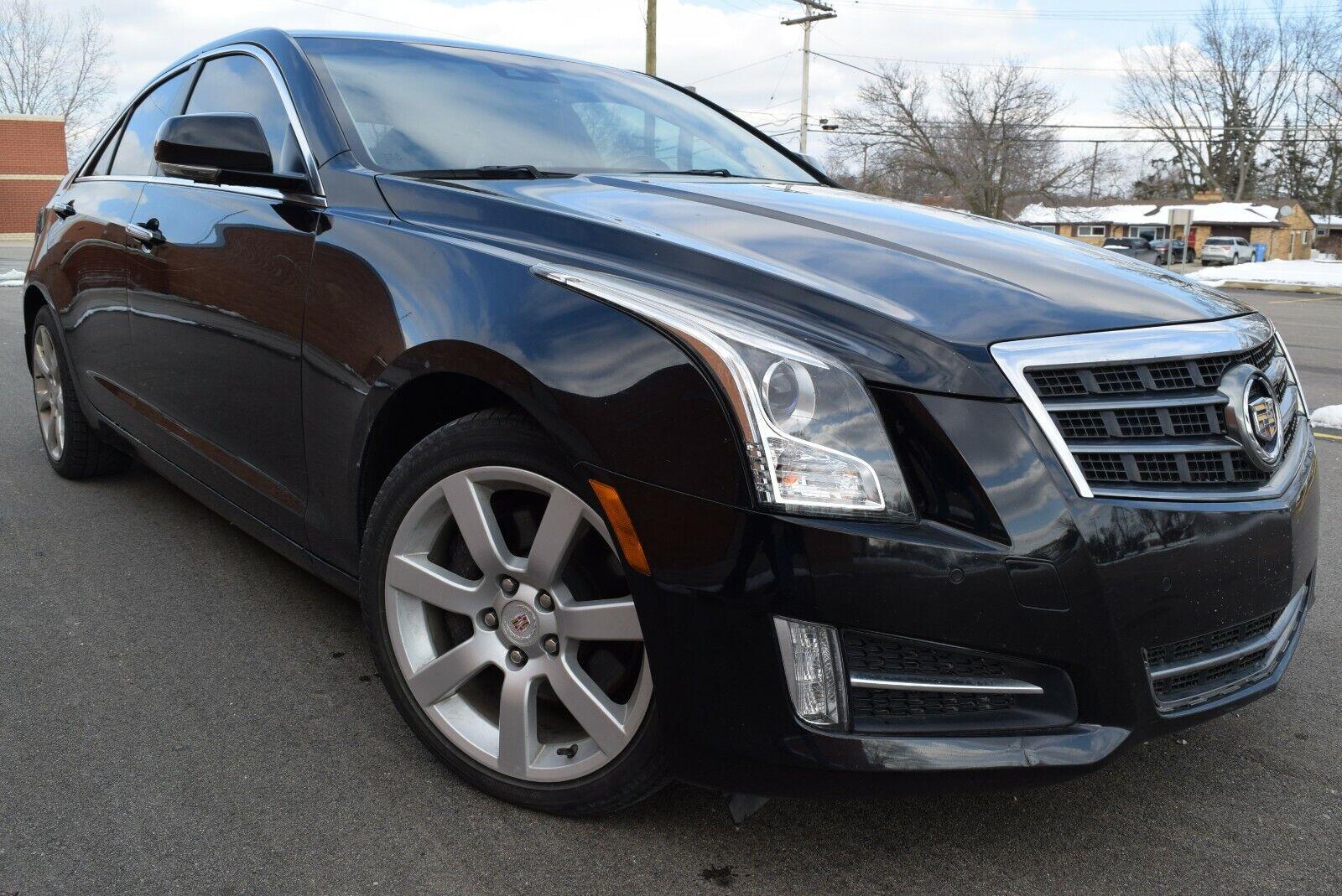 2014 Cadillac ATS 2.0T Performance 2.0L/I-4/Turbo/AWD/Sunroof/Navigation/Camera