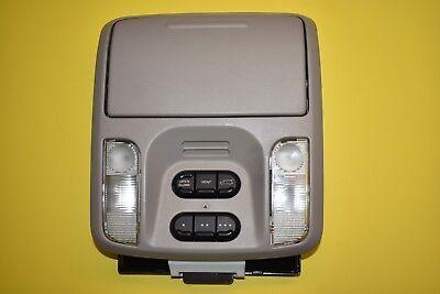04 05 06 Chrysler Pacifica Overhead Console Box Light Map Lamp Module Tan OEM