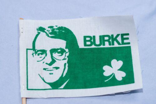 Vintage Chicago Alderman Ed Burke Political Campaign Flag