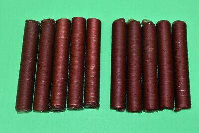 Original Beef Collagen 17 Mm Casings Sausage Snack Stick Slim Jim For 45 Lbs