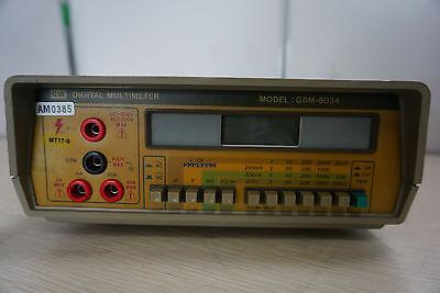 Gw Instek Gdm-8034 Bench Digital Multimeter Rpg