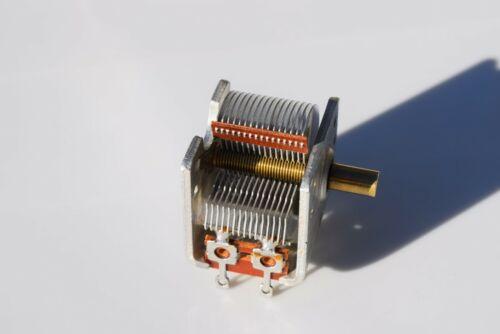 VARIABLE AIR CAPACITOR 365pF AM BAND LOOP ANTENNA CRYSTAL RADIO TUNER TUNING