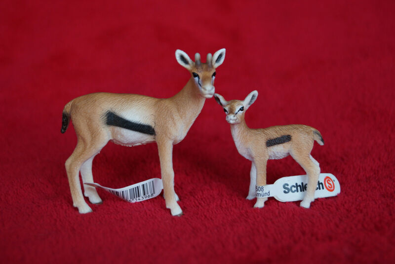 Schleich Gazelle Family 14396/14397, Retired