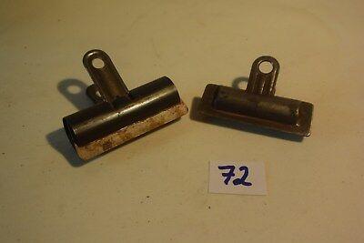 C72 2 anciens attache papier clips objet de métier d'occasion  Jurbise