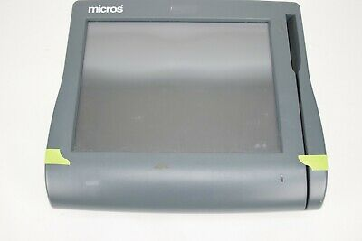 Micros Workstation Ws4 Lx Touchscreen Retail Pos System Terminal Broken Casing
