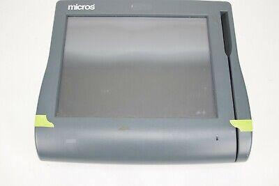 Micros Workstation Ws4 Lx Touchscreen Retail Pos System Terminal Broken Casing