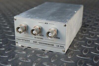 Egg Berthold Lb 2015 Amplifier Discriminator