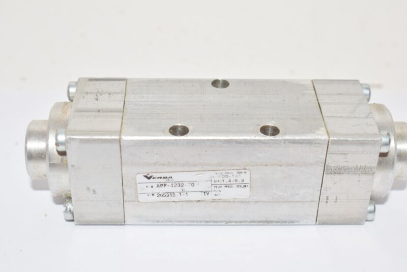APP-4232-70 VERSA PNEUMATIC DIRECTIONAL VALVE, Aluminum 1/8