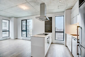 Griffintown, 2 bed+1 bath, gym, lounge, rooftop pool+