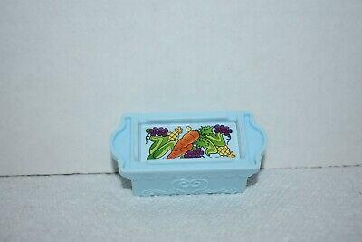 Fisher Price Little People Light Blue Food Crate for Disney Princess Klip Klop