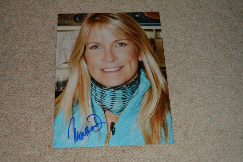 MARTHA DE LAURENTIIS  signed autograph 8x10 (20x25 cm) In Person HANNIBAL