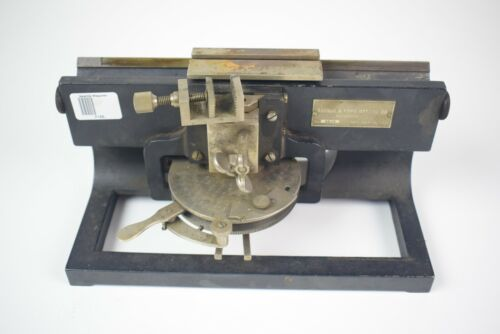 1903 Bausch and Lomb Optical Co - 6510 microtome