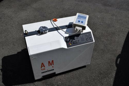 ALCATEL ASM 180T HELIUM LEAK DETECTOR Pascal Pfeiffer vacuum pump 1227-DMI