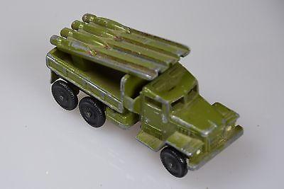 Russland Blech Militär Blechlastwagen Raketenwagen UdSSR Militärspielzeug