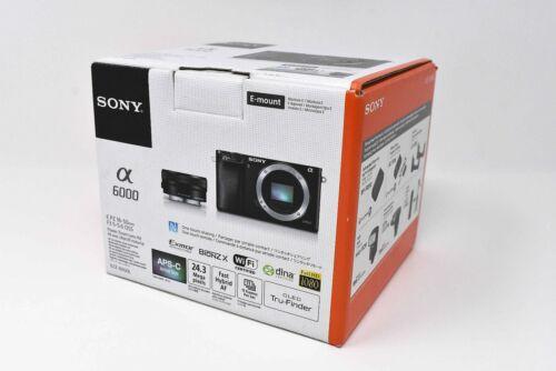 Sony a6000 Alpha Mirrorless Digital Camera ILCE-6000L/B w/ 16-50mm Lens - NEW !!