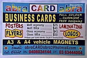 Business Cards ... custom full colour designing Prospect Launceston Area Preview