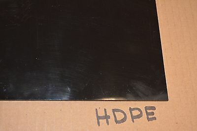 Hdpe Sheet Black 18 X 48 X 12 High Density Polyethylene