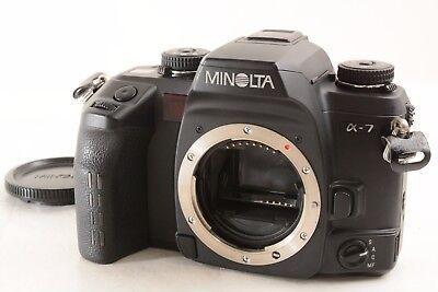 Пленочные фотокамеры Minolta α-7 35mm Film